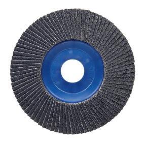 Vejárovitý brúsny kotúč 125 mm, 22,23 mm, 80,  U/min