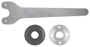 3-dielna súprava upínacích dielov pre malé uhlové brúsky