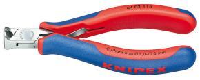 Kliešte čelné štípacie Knipex 6402115 pre elektroniku