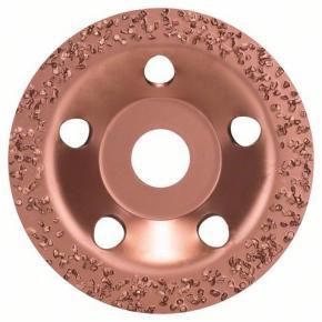 Miskovitý brúsny kotúč so zrnom z tvrdého kovu 115 x 22,23 mm; hrubý, plochý