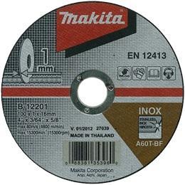 Tenký rezný kotúč na nerez Makita B-12201